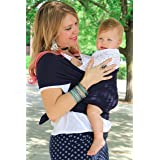 Moby Wrap Baby Carrier for Newborns + Toddlers Soft Baby Sling Baby Wrap, Ideal for Baby Wearing, Breastfeeding, and Keeping