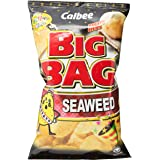 Calbee Big Bag Potato Chips, Seaweed, 165g