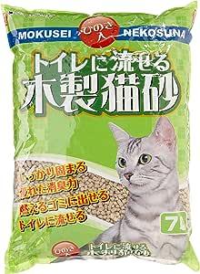 トイレに流せる木製猫砂 7L