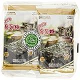 Hyosung Seasoned Seaweed Mini Snack, 2g (Pack of 8)