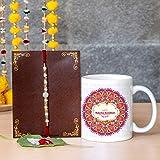 TIED RIBBONS Rakhi for Brother on Raksha Bandhan for Your Brother Rakhi Coffee Mug with Wishes Card
