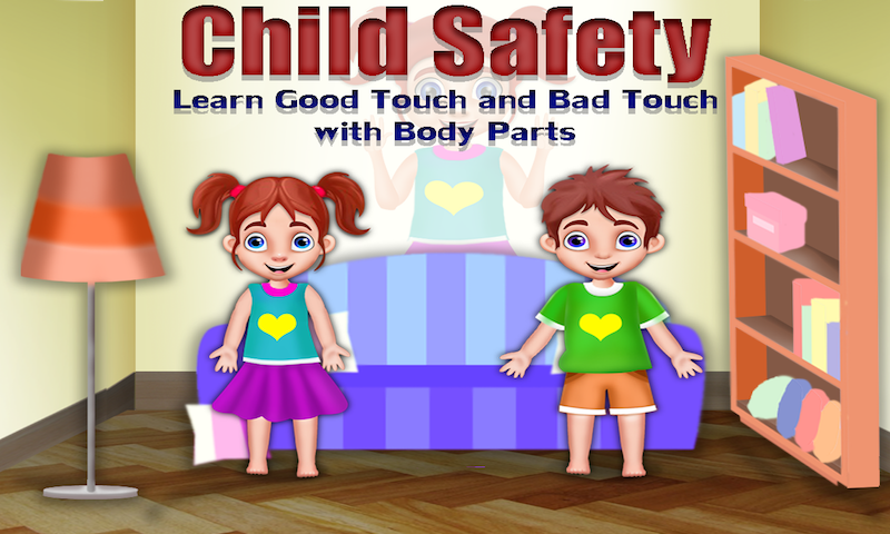 Amazon Co Jp Child Safety Learn Good And Bad Touch With Body Part Kids Games Android ¢プリストア