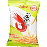 Calbee Prawn Crackers, Spicy, 90g