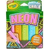 Crayola Special Effects Sidewalk Chalk - Neon (5 Chalk Sticks)
