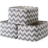 Sacyic Large Storage Baskets for Shelves, Fabric Baskets for Organizing, Collapsible Storage Bins for Closet, Nursery, Clothe