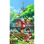 妖怪ウォッチ HD(720×1280)壁紙 『妖怪ウォッチ3』ジバニャン,ケータ,トムニャン,KKブラザーズ,あしたガール,ウィスパー,ピントコーン
