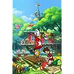 妖怪ウォッチ iPhone(640×960)壁紙 『妖怪ウォッチ3』ジバニャン,ケータ,トムニャン,KKブラザーズ,あしたガール,ウィスパー,ピントコーン