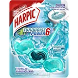 Harpic Turquoise Power Toilet Block Cleaner, 39g, Tropical Lagoon
