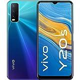 "vivo Y20s Dual Nano Sim 4G Smartphone, 128GB, 6.51"" Halo FullView Display (Nebula Blue)"