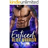 Enticed by the Alien Warrior: A Sci Fi Alien Romance (Warriors of Agron Book 8)
