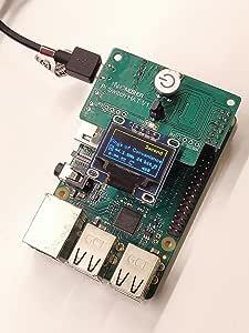 Nanomesher Hackable Pi Power Switch Cap & OLED Display - マルチメディアリモコン付き ハッカブル パワースイッチ キャップ