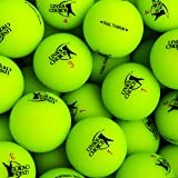 Links Choice Unisex's 12 Dual Titanium Vibe Optic Matte Finish Golf Balls