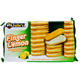 Julie's Finger Lemon Sandwich Biscuits, 126g