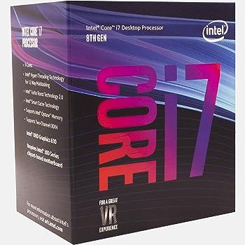 Intel CPU Core i7-8700 3.2GHz 12Mキャッシュ 6コア/12スレッド LGA1151 BX80684I78700 【BOX】