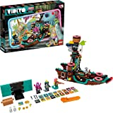 LEGO 43114 VIDIYO Punk Pirate Ship Beatbox Music Video Maker Musical Toy for Kids, Augmented Reality Set with App