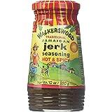 Walkerswood Traditional Jamaican Hot and Spicy Jerk Seasoning, 280 ml