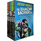 Diamond Brothers 5 Books Collection Pack Set with 7 Titles (Greek Who Stole xmas, Blurred Man, I Know What You Did Last Wedne