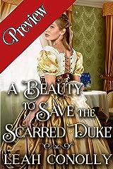 Α Beauty to Save the Scarred Duke: A Clean & Sweet Regency Historical Romance Novel Kindle Edition