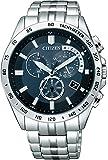 [シチズン]CITIZEN 腕時計 Citizen Collection シチズン コレクション Eco-Drive エコ・ドライブ 電波時計 クロノグラフ AT3000-59L メンズ