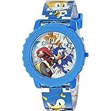 Sonic the Hedgehog Kids' SNC4028 Digital Display Quartz Blue Watch