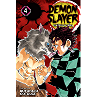 Demon Slayer: Kimetsu no Yaiba, Vol. 4: Robust Blade (Englis…