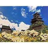 [城ミニ] 日本100名城 岐阜城 ケース付き お城 模型 ジオラマ完成品 ミニサイズ