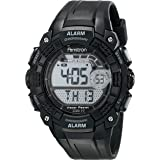 Armitron Sport Men's 408209BLK Digital Watch with Black Resin Strap