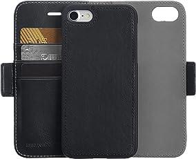Amazonベーシック iPhone 8/7 取り外し自由合皮ウォレット一体型ケース