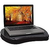 Sofia + Sam Mini Memory Foam Lap Desk Color: Black
