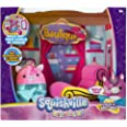 """Squishville by Squishmallow Boutique Playset, 2"""" Soft Mini-Squishmallow, 8"""" Playset, 1 Plush Accessory, Irresistibly Soft Plu"""