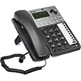 Cordless Handsets 6 with Answering System Black/Silver
