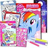 My Little Pony Colouring Book with Take-N-Play Set 96-page Pinkie Pie Colouring Book, My Little Pony Stickers, Markers, & Bon
