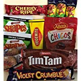 Best of Australia - Tim Tam, Vegemite, Caramello Koala, Chicos, Cherry Ripe, Violet Crumble and a selection of Aussie Biscuit