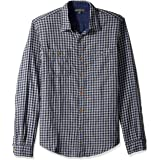 J.Crew Mercantile Men's Slim-Fit Long-Sleeve Flannel Plaid Shirt