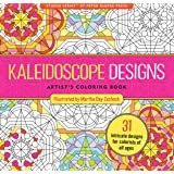 Kaleidoscope Designs Adult Coloring Book (31 stress-relieving designs)