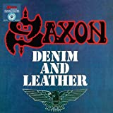 DENIM AND LEATHER [LP] (BLUE AND WHITE SPLATTER COLORED VINYL) [12 inch Analog]