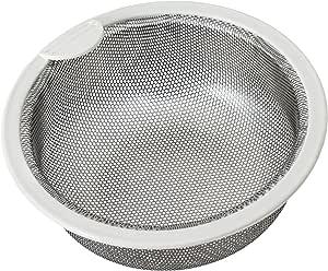 Belca 排水口 ゴミ受け 流し用ステンレス浅型ゴミカゴ 135タイプ 直径13.5×高さ5.8cm ステンレス 日本製 SP-202