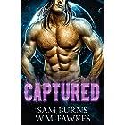 Captured: An MM SciFi Alien Prince Romance (Star Marked Warriors Book 1)