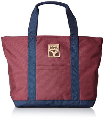 Tote Bag M T234: Burgundy / Navy