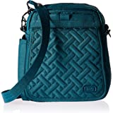 Lug Women's Flapper Cross Body Bag, Brushed Teal, One Size