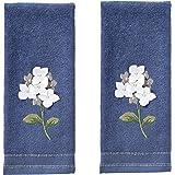 SKL Home by Saturday Knight Farm Hydrangea Hand Towel Set, Blue, 16 x 25