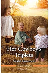 Her Cowboy's Triplets (The Boones of Texas Book 7) Kindle Edition