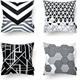 "(North European Style) - Phantoscope Decorative New Geometric Series Throw Pillow Cushion Cover North European Style 18"" x 18"