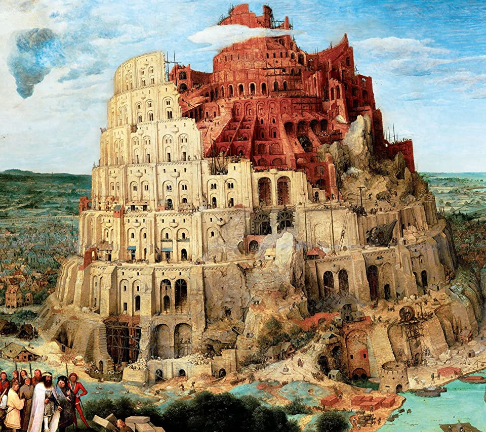 「バベルの塔 絵画 ブリューゲル」の画像検索結果