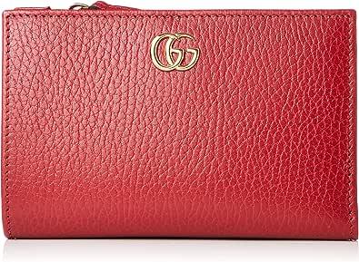 [グッチ] 財布 二つ折り財布 レザー 546588CAO0G HIBISCUS RED One Size [並行輸入品]
