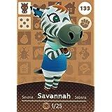 Nintendo Animal Crossing Happy Home Designer Amiibo Card Savannah 133/200 USA Version