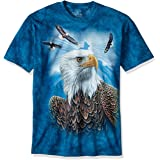 The Mountain Guardian Eagle Adult T-Shirt