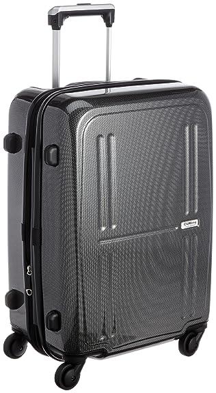 c80835eb7f Amazon   [シフレ] Siffler CUBING B1257T-50 ハード/ジッパーケース B1257T-50 カーボンブラック (カーボンブラック)    スーツケース