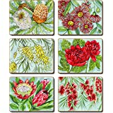 Cinnamon CMC392 Bush Blooms Drink Coasters