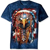 The Mountain Native Patriot Eagle Adult T-Shirt